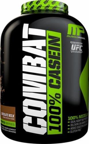 MusclePharm Combat Casein 1.8kg |כשרה לפסח אבקת חלבון מאסל פארם קומבט 100% קזאין