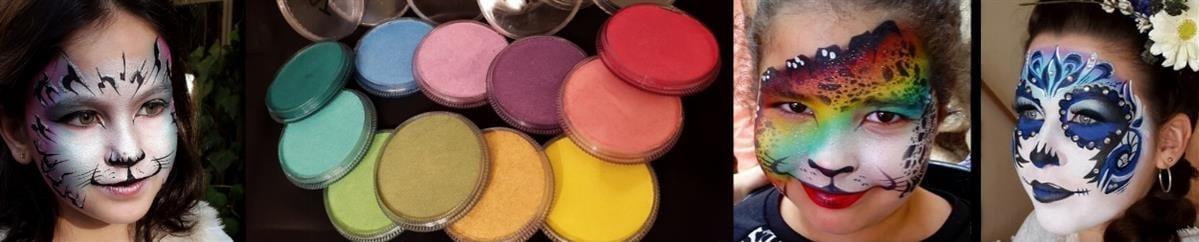 TAG-paint.com איפור איכותי לציורי פנים וגוף וציוד מקצועי נלווה .