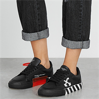 Off White Low Vulcanized Leather