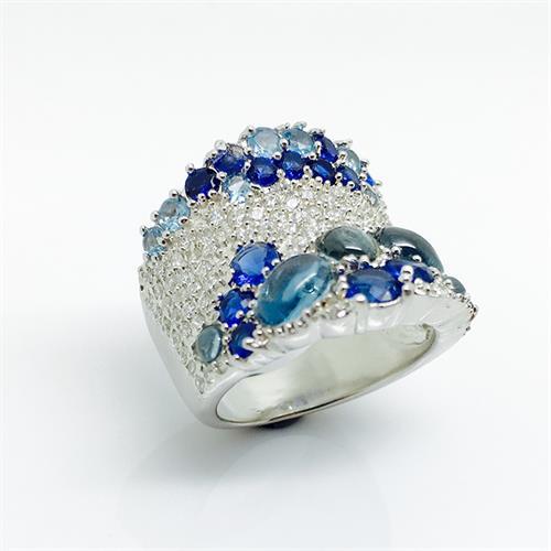 טבעת כסף איטלקית נשים 925 MY01140024515100
