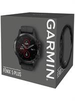 שעון דופק Garmin fenix 5 Plus Sapphire Black with Black Band