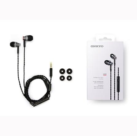 אוזניות IN-EAR אונקיו דגם ONKYO E300m