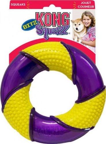 משחק לכלב קונג סקוויז בייטס טבעת גדולה