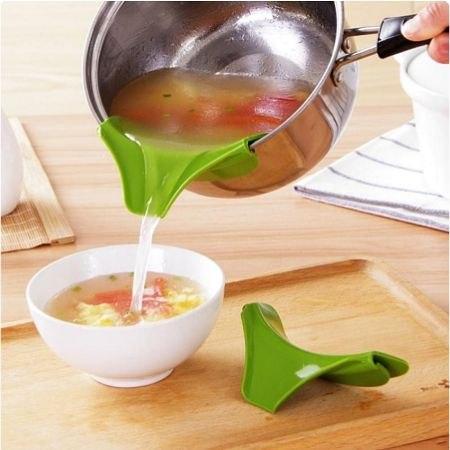 משפך עם עיצוב חדשני לסירי מטבח