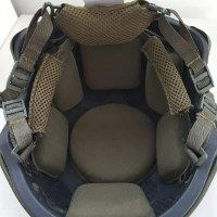 Tactical Fast Ballistic Helmet – Masada Armour Ranger Green