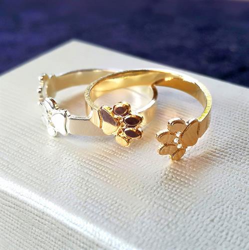 טבעת Paw Print