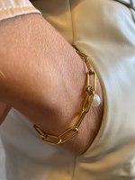 צמיד לורן  זהב מיני