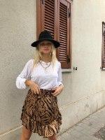 חצאית זברה