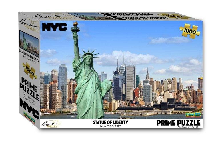 פאזל 1000 פסל החירות בניו יורק