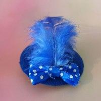 סיכת כובע כחול