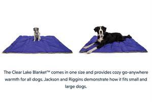 שמיכה לכלב CLEAR LAKE BLANKET