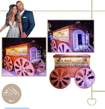 החתונה של ליהי בנין ואלעד לוי- כוכבי הרשת