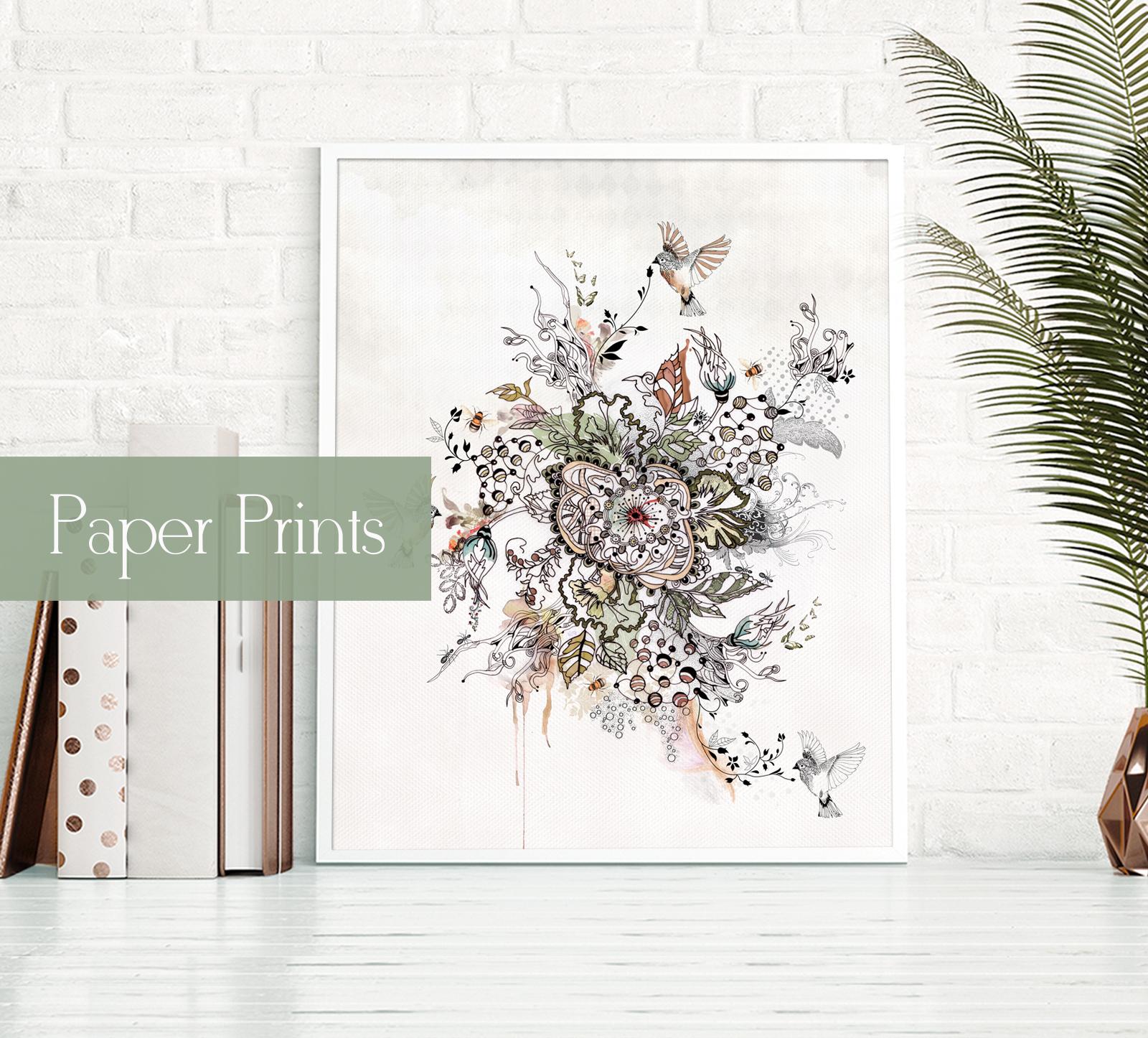 הדפס על נייר