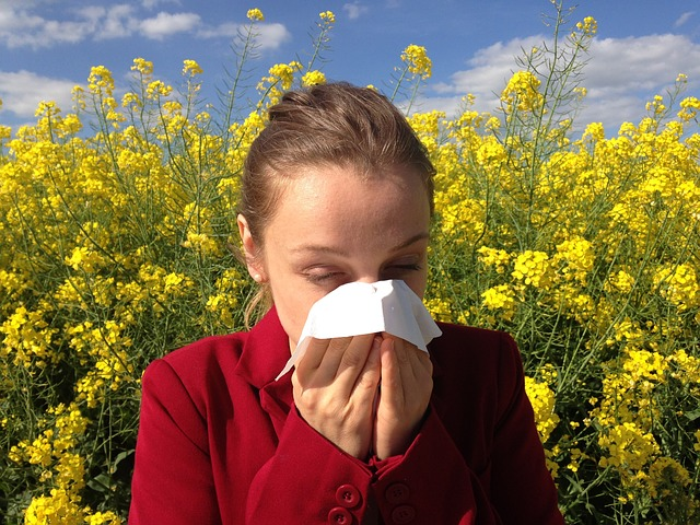 ספירולינה מקלה על תסמיני אלרגייה.