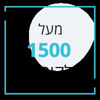 קאש קאו מעל 1500 לקוחות מרוצים