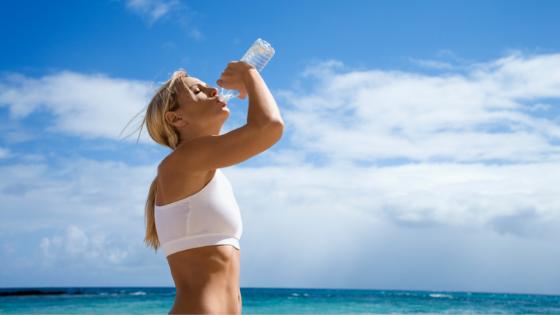 חשיבות שתיית מים בקיץ