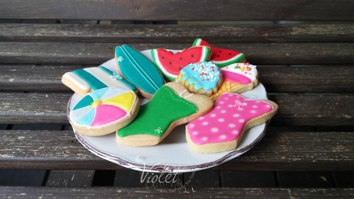 קונספט עוגיות קיץ