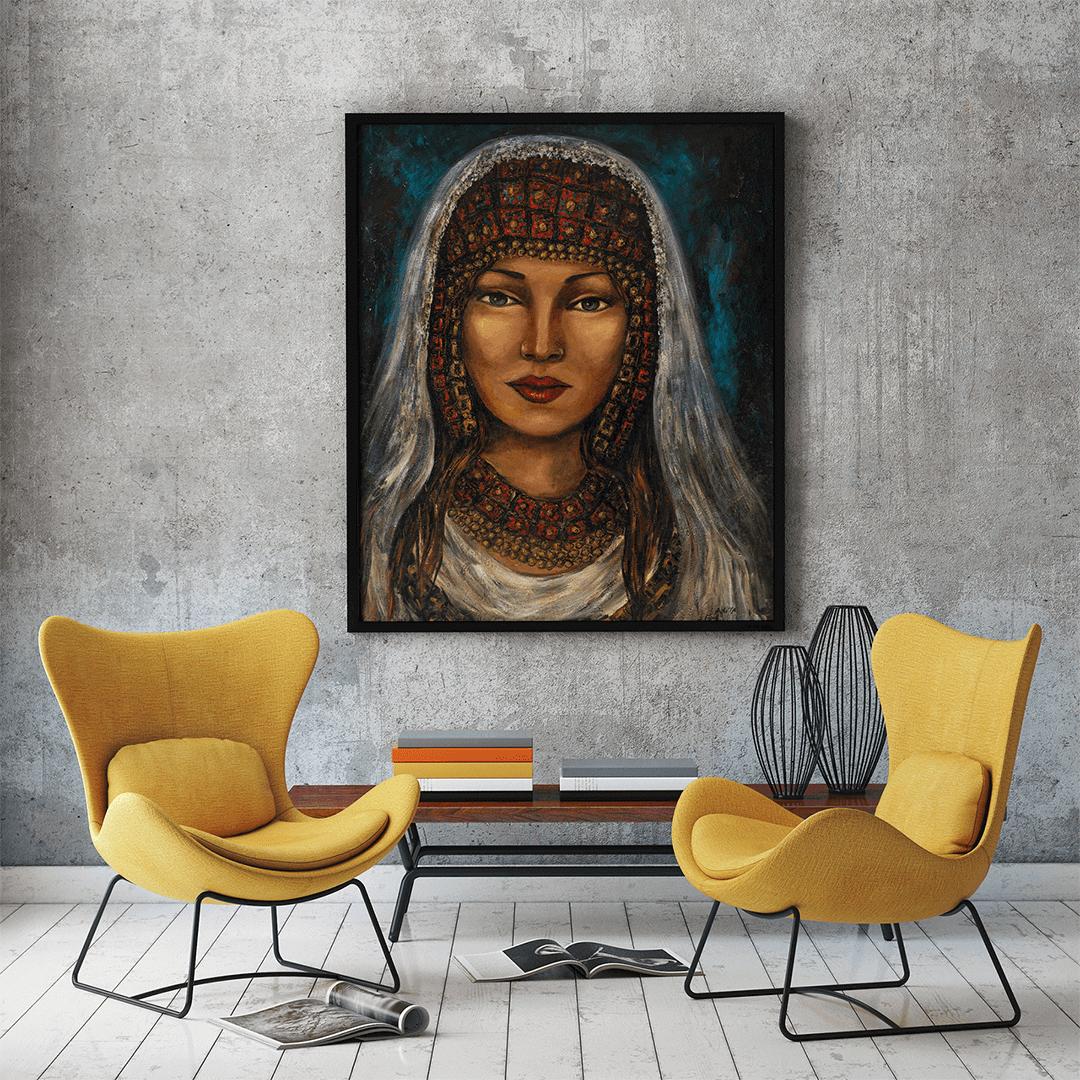 ציורי קנבס נשים