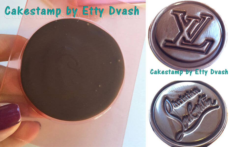 CHOCOLATE PERSONALIZED STAMP