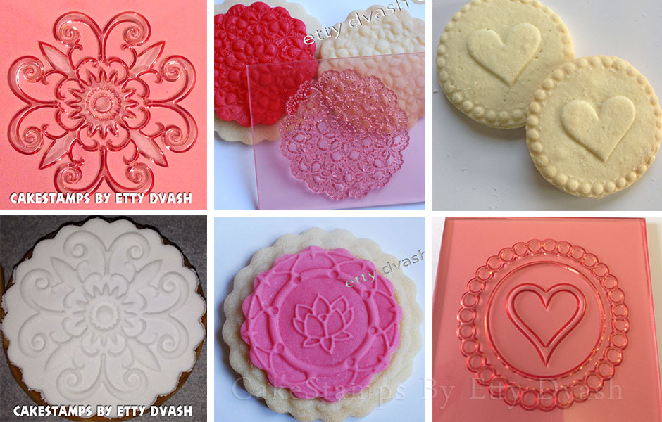 DECORATION HEART STAMP
