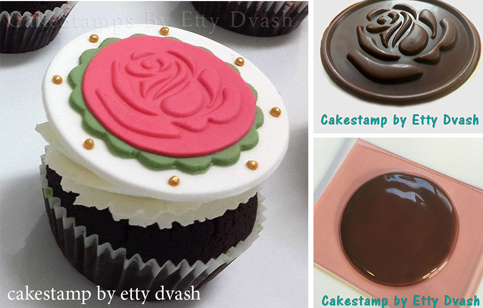 STAMP FONDANT CHOCOLATE